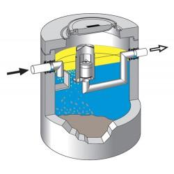 Koalescencyjne separatory substancji ropopochodnych